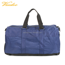 Washable Leisure Tour Cool Duffle Gym Bag For Teens With Mesh Pocket