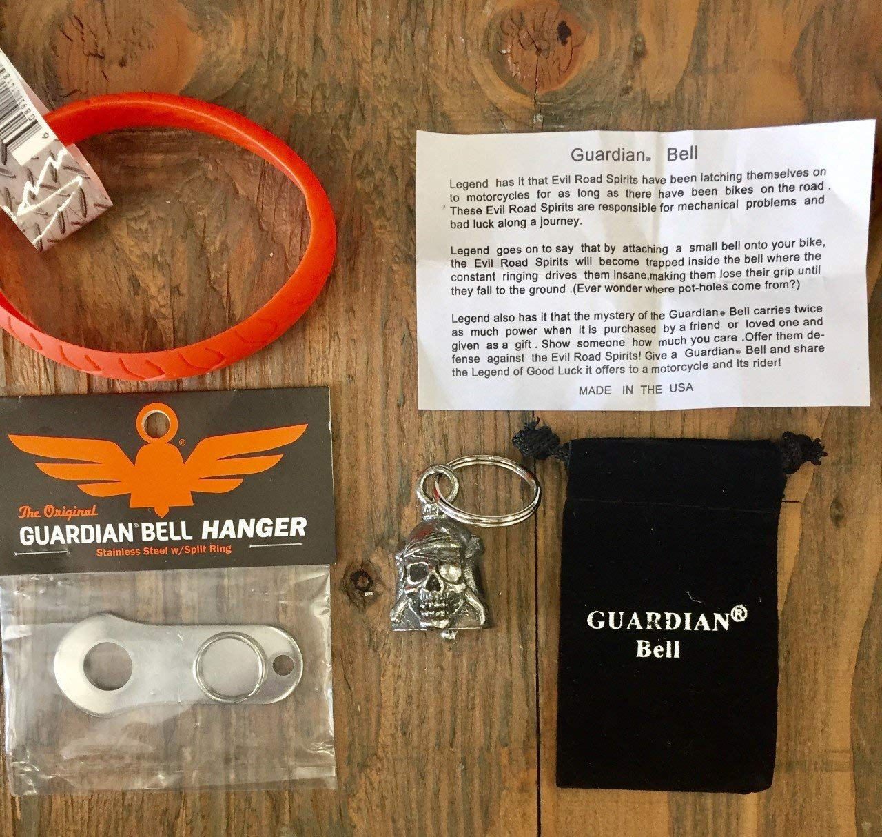 Guardian® Bell PIRATE COMPLETE KIT W/HANGER & WRISTBAND