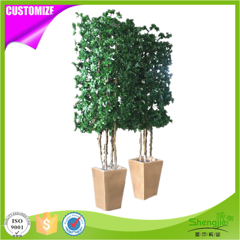 Cheap price indoor decor ornamental artificial topiary foliage plants in pot
