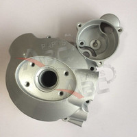 125cc 150cc CG150 Magneto Coil Cover Left Side Engine Cover For Zongshen Loncin Qjiang Lifan Engien Parts