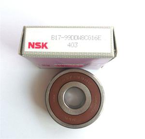 China non-standard deep groove ball bearings nsk B17-99D bearing for  automotive generator bearing