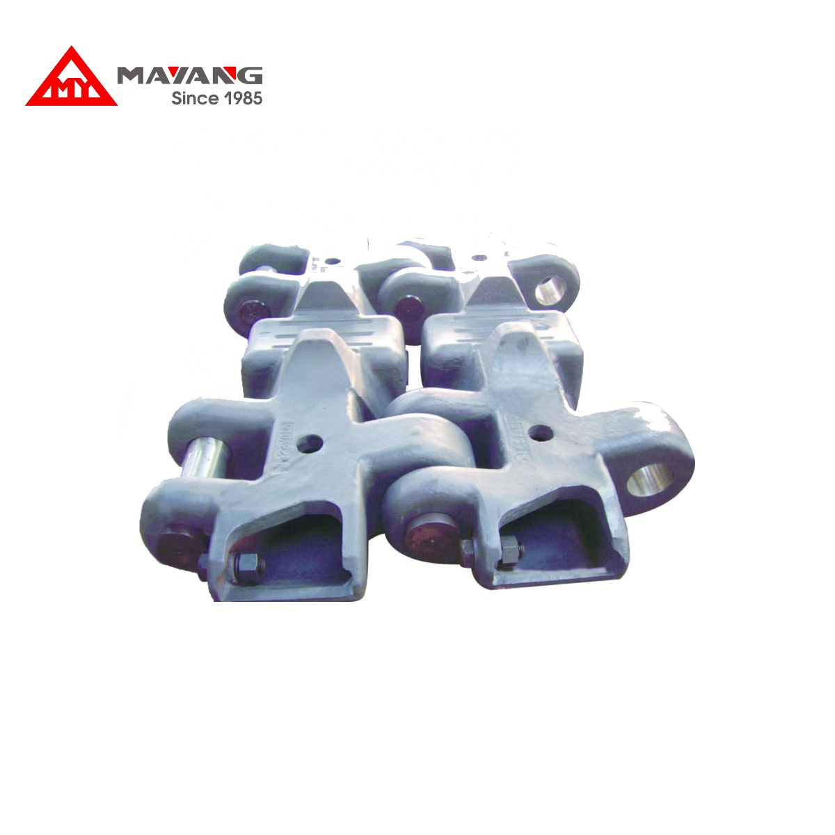 Chrome casting รองเท้า construction machinery สำหรับ excavator