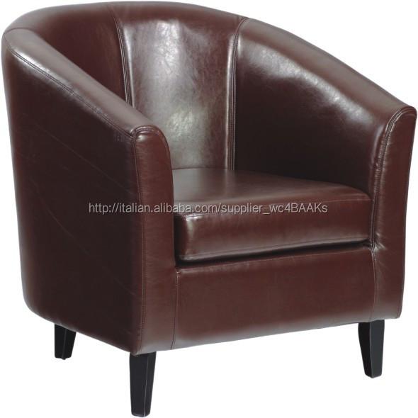 rotondi poltroncine in pelle rossa-Sedie in soggiorno-Id prodotto ...