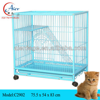 Metal Cat House/ Indoor Cat Cages - Buy Indoor Cat Cages,Cat House ...