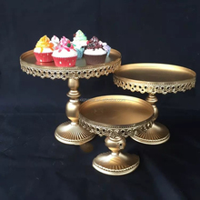 TYDGJ-002 Gold Cake Stand 1 Piece Wedding Party Decoration Supplier Cake Tools Decoration