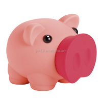 Cute DIY blank piggy bank, paint your own pvc piggy bank, DIY vinyl coin bank