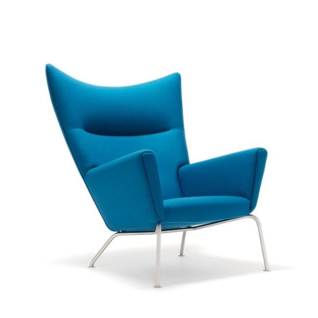 high back fiberglass frames french velvet lounge modern wing chair with fabric