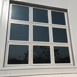 Special industrial vented explosion-proof glass window