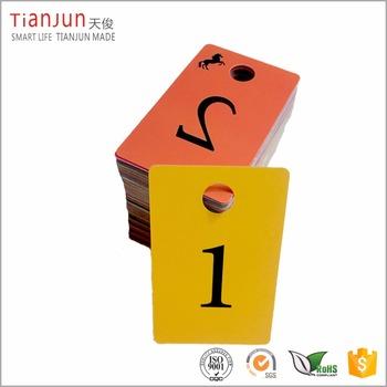 Plastic Live Sale Tags Normal Reverse Mirror Image Backwards Numbers - Buy  Plastic Adhesive Numbers,Reverse Numbers Card,Plastic Tags With Numbers