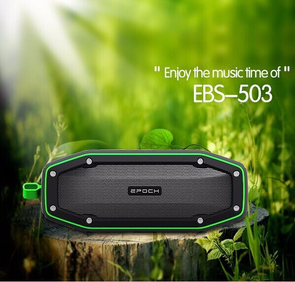 Built-in MIC, with handfree(phone) function portable mini car speaker audio, Bluetooth 4.1