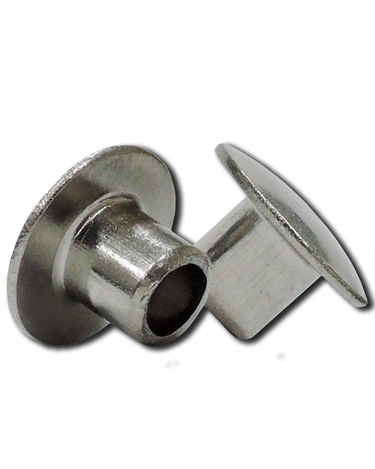 SEMI-Tubular Rivets,10//16 inch 100 Pack White
