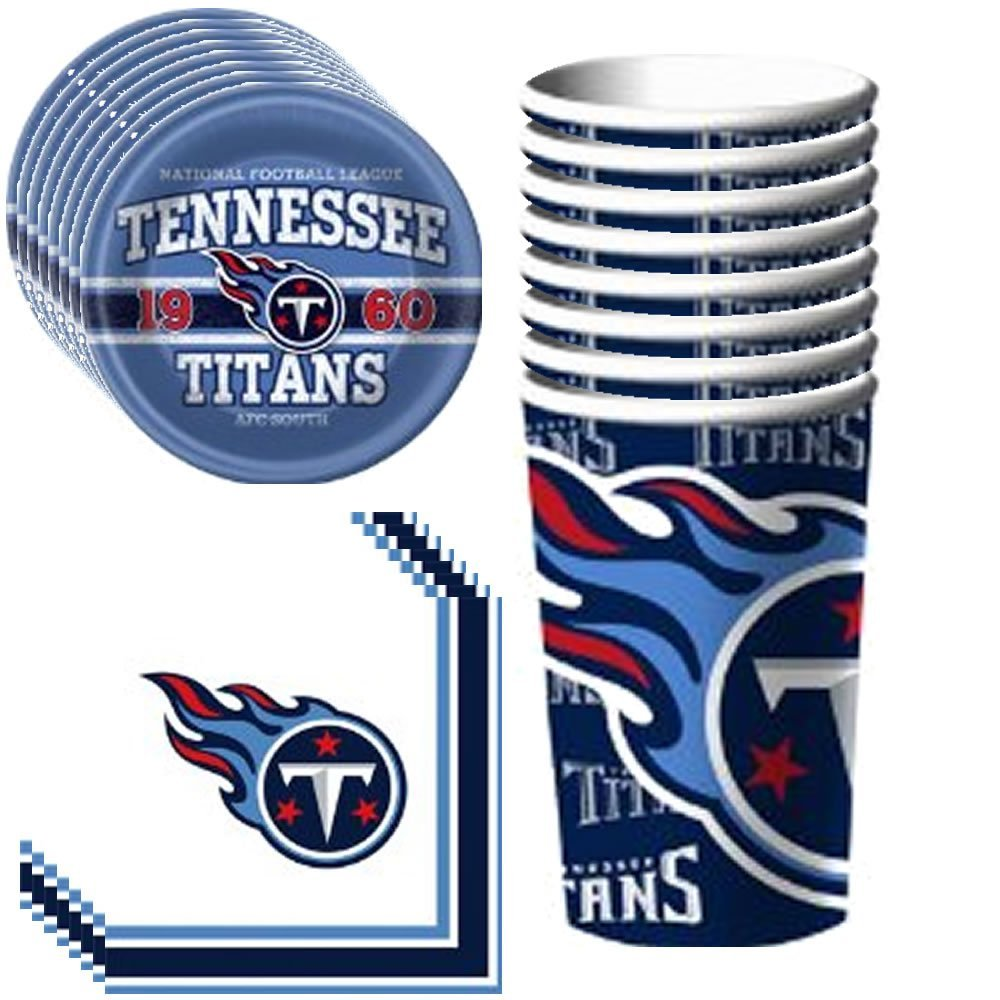 Buy NFL Tennessee Titans Birthday Party Kit (96-Piece) in Cheap ... 9f525ee0f