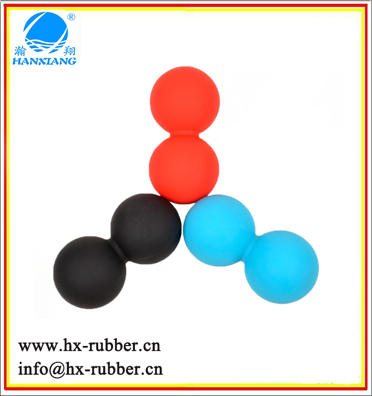 Wholesale Mobility Training Yoga Peanut Massage Ball Double Lacrosse Ball