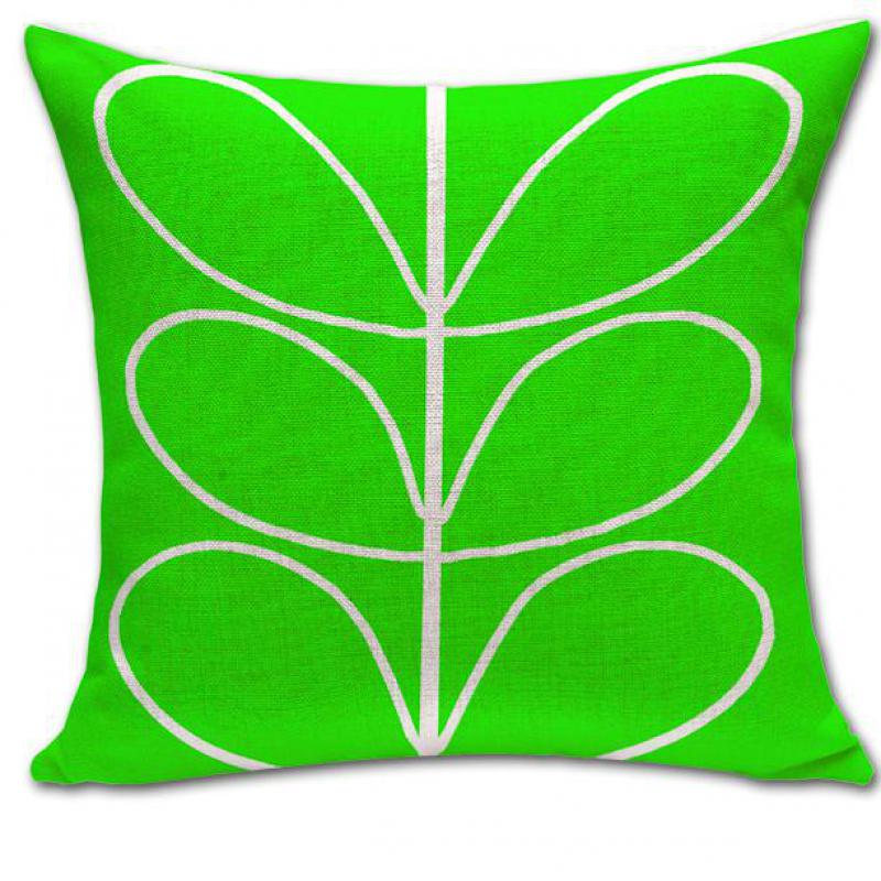 Free Shipping Modern Minimalist Petal Flowers Printing Linen Back Cushion Cover Throw Pillow Cover For Home Bedding Set
