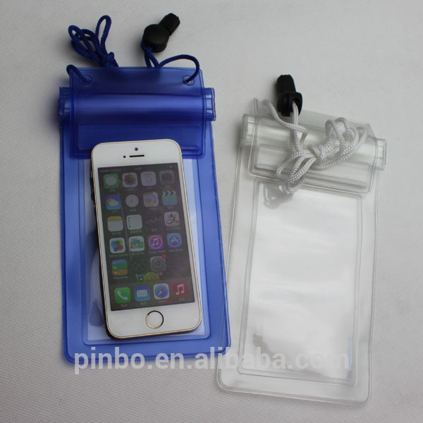 PVC Waterproof Case For Mobile Phone
