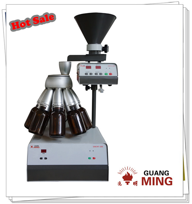 High accuracy electric rotary sample divider 8pcs sample collector automatic dividing mineral and ore for analysis