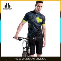 China custom service factory design mens breathable cheap bicycle clothing set sport team cycling set