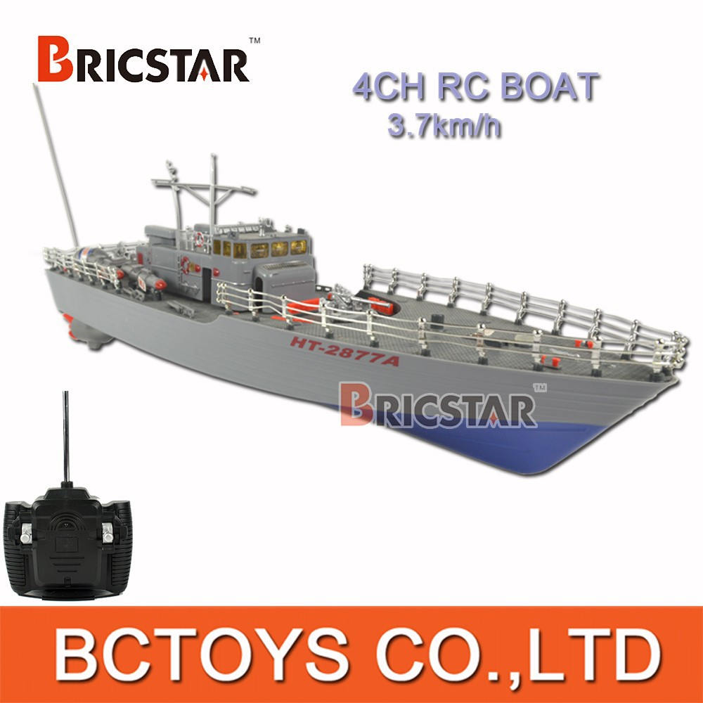 Wholesale 4CH 40MHz military rc boat aircraft carrier with lights.