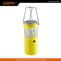 ABS Solar Power Rechargeable Camping Light Ultra Bright Lantern Solar Hand Cranking Dynamo Lantern