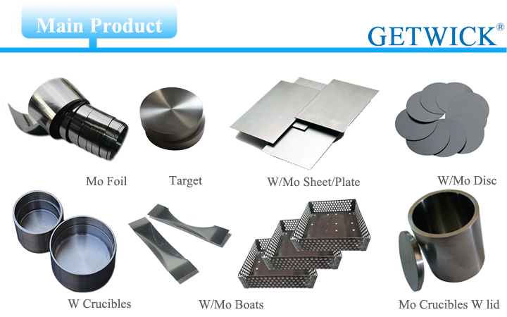 pure moly sheet molybdenum metal plate suppliers and mu metal sheet