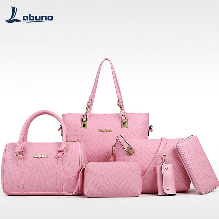 women pu hand bag with chain strap bag fashion pebbled leather wallet handbags ladies