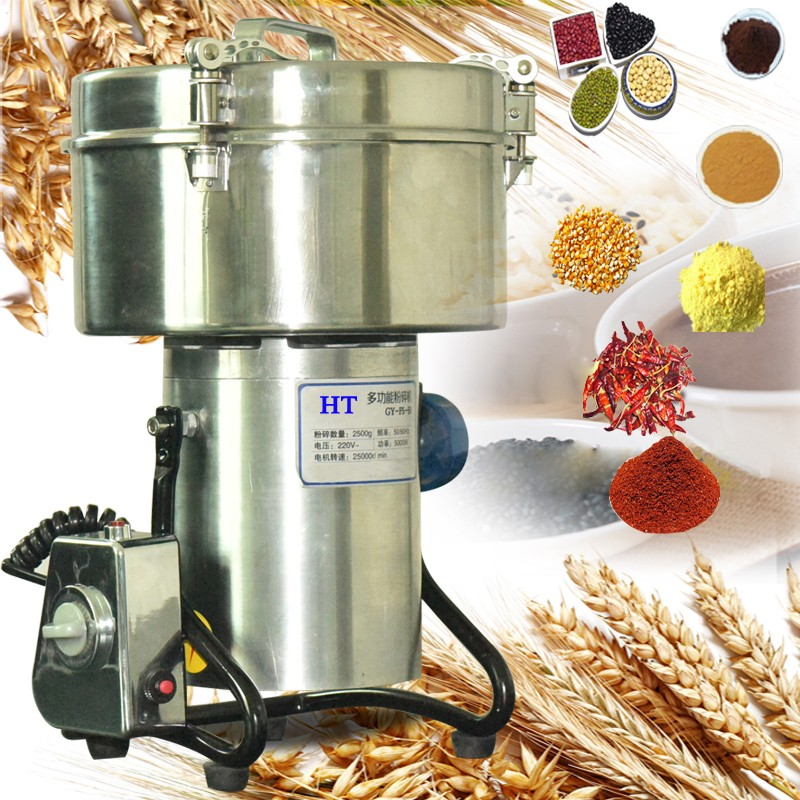 Pure Copper Motor High Quality Stainless Steel Chili Powder Grinding Machine For Sale