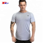 High Quality 180gsm Muscle Fit Sportswear Cotton Spandex Sports Running Shirts Custom Mens Gym T Shirt