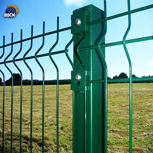 white color Hot Dipped Galvanised BRC Welded Wire Mesh Fence