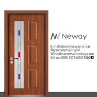 Wrought iron door inserts main gate design in single door building glass dome