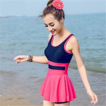 46b0874b376 Swim Skirt Ladies One Piece Swimsuit Female Swimming Suits Bathing Swimsuits  for Women