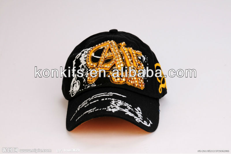 Golf Baseball Sports Caps Hat With Embrodery And Printing