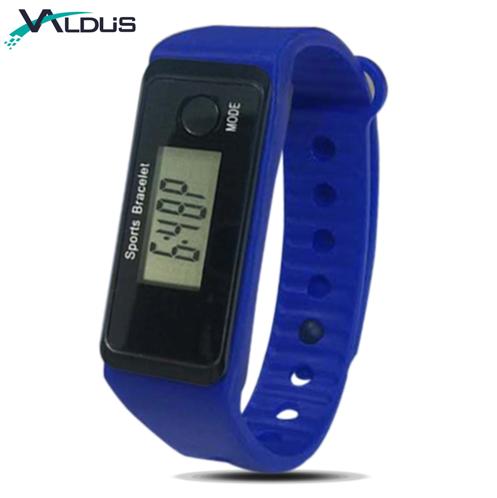 Cheapest Factory Directly Supply Silicone Digital Wrist Pedometer