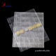 Flexible clear PVC plastic 42 pockets coin album page sheets leaf Folder for coin collections