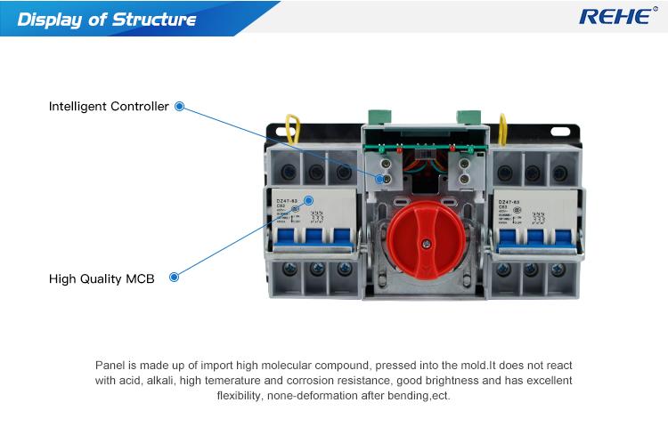 PC CB Otomatis Changeover Beralih power supply Terus Menerus