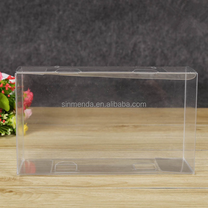 Custom see through crystal Plastic PVC wine glass clear box