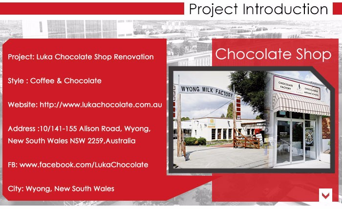 INEO Successful Chocolate Shop Projects In Australia
