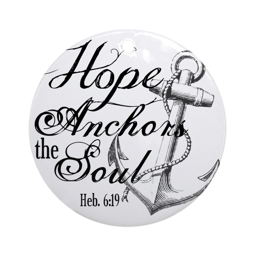 Buy CafePress Hope Anchors the Soul Heb. 6:19 Throw Pillow ...