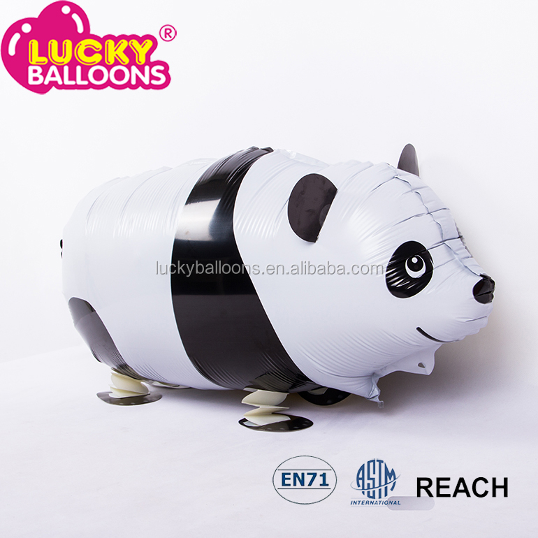 Bulk forma panda oyuncak walking animal balloons foil