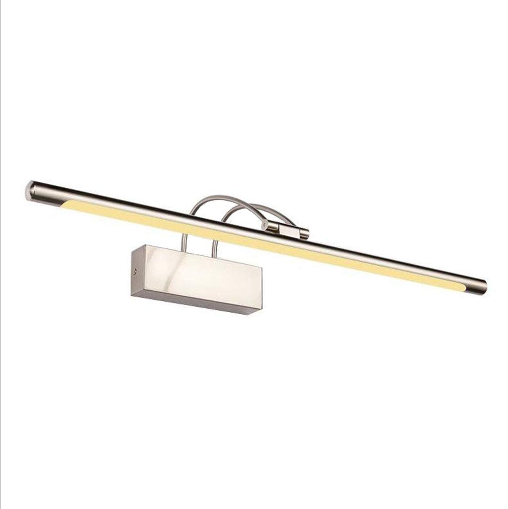 MS Light fixture LED Vanity Mirror Light - American Retro Bathroom Vanity Lamp Mirror Makeup Lamp Bathroom Lighting Kit, 180 Degree Rotation Adjustment,Warm Light [Energy Class A++,4 Sizes Available