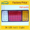 truck 36 tail light LED motor lorry side marker lamp