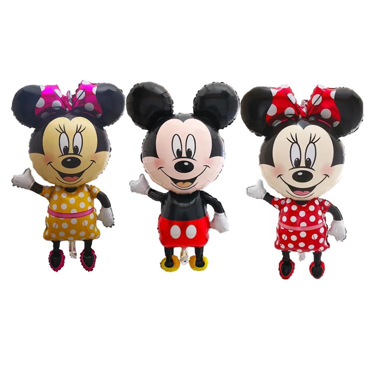 Tamanho Grande Dos Eua Estilo Mickey Minnie Mouse Balao Da Folha