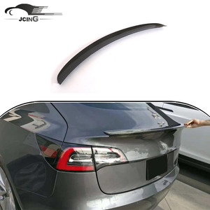 Carbon Fiber Rear Trunk Spoiler for Tesla Model 3 Sedan 2016-2018
