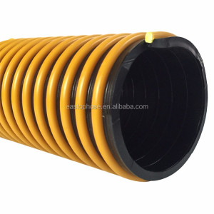 PVC Helix Corrugated Vacuum Flexible Water Pipe 8 Inch Suction Hose