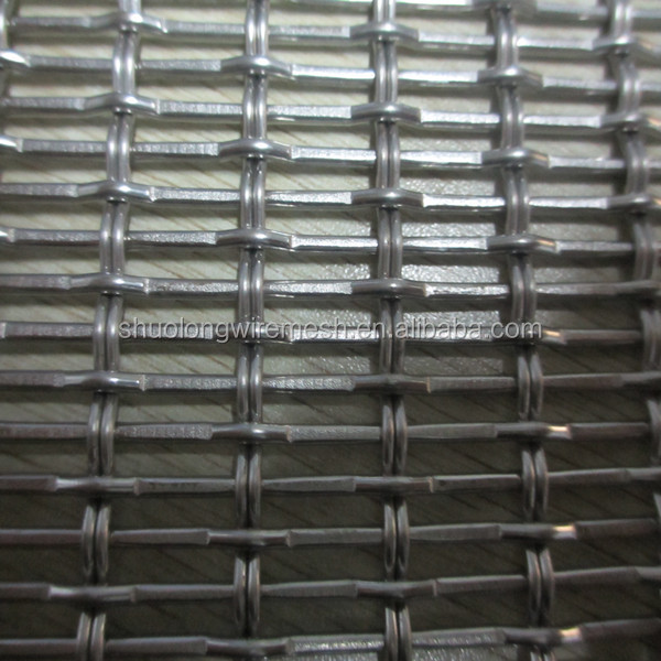 Hebei Factory Stainless Steel Woven Wire Fabric For Elevator