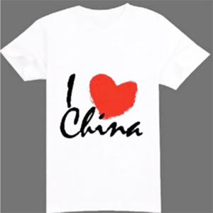 Promotional cheap wholesale custom t shirt 65 polyester 35 cotton t-shirt with your logo printing