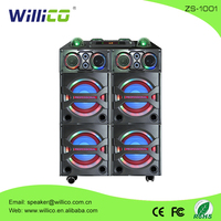 Strong bass DJ wooden professional active speaker