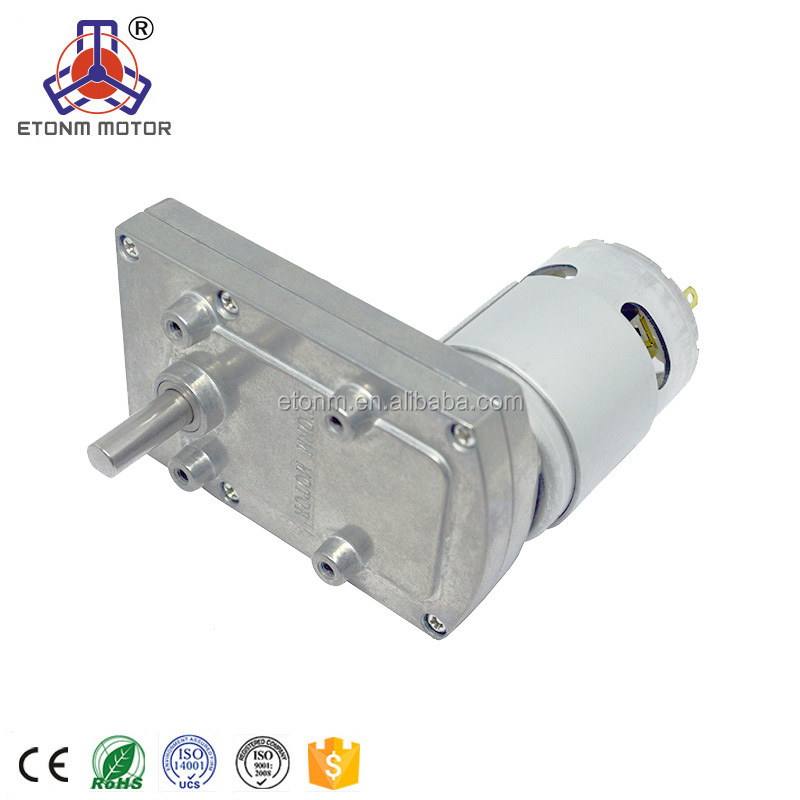 DC Motor gearbox motor low rpm high torque for house hold electric appliance 12v 8rpm