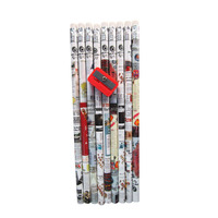 7'' recycled newspaper mechanical pencil