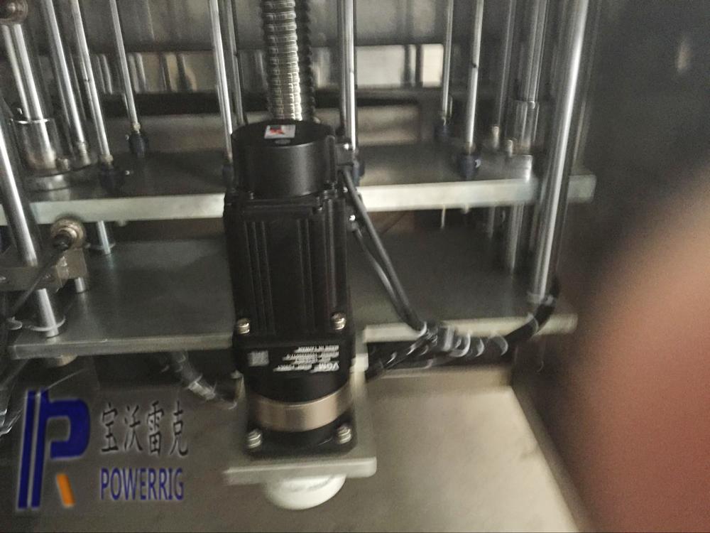 Automatic body shampoo bottle filling machine
