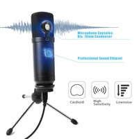 Wired Communication usb voice recorder sound card studio recording studio equipment microphone